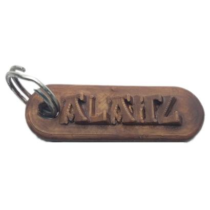 ALAITZ 3d keychain