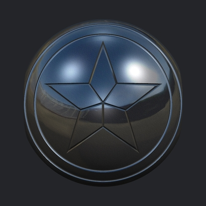 Captain America Pandora Charm