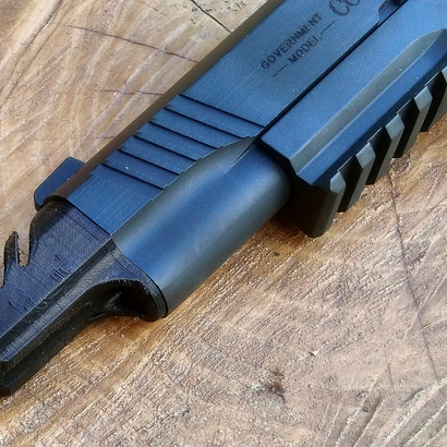 1911 Combat Flashhider for Airsoft GBB Pistol