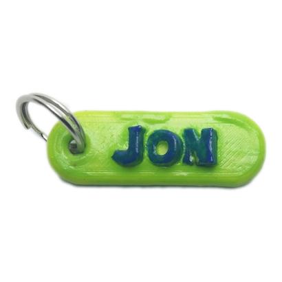 JON 3d keychain