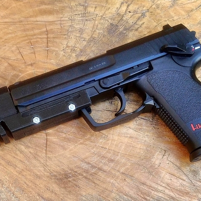 Match Weight Lara Croft Compensator for USP