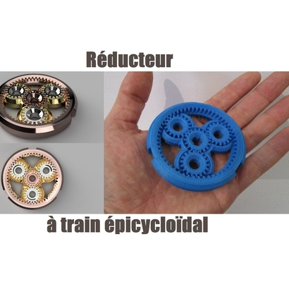 Reducteur à train épicycloïdal / Epicyclique gear reductor