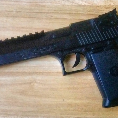 Top Picatinny Rail (8-Slots) for Desert Eagle .44 Magnum ASP
