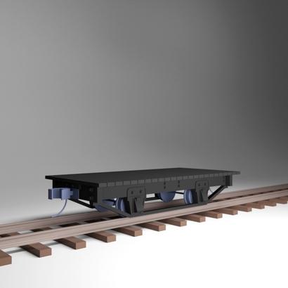12' Flat w/Deck