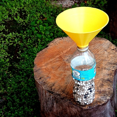 Airsoft BB Funnel for Water Bottle