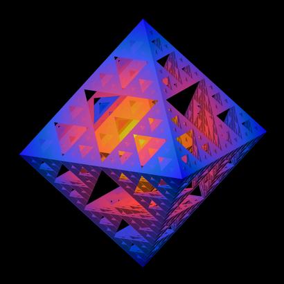 Sierpinski octahedron iteration 4