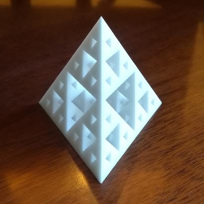 Sierpinski tetrahedron iteration 3