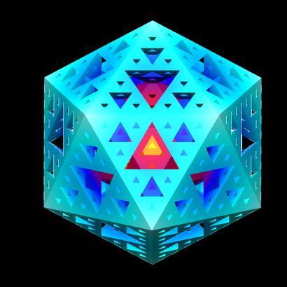 Sierpinskicosahedron_lvl3