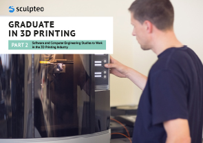 The best 3D printing education to work in software and computer engineering ebook cover